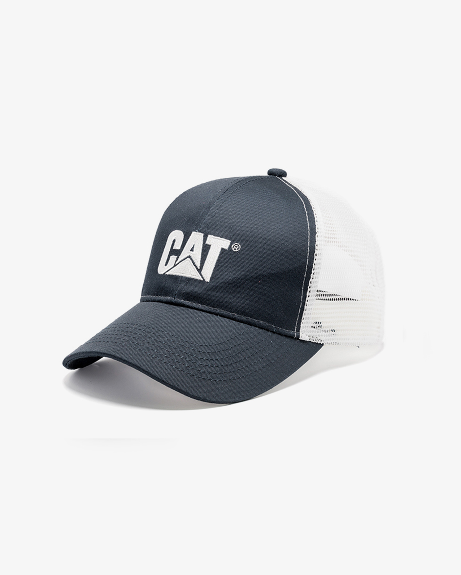 5293-719 Arctic Cat Race Hook-and-loop Closure Embroidered Polyester Cap Gray